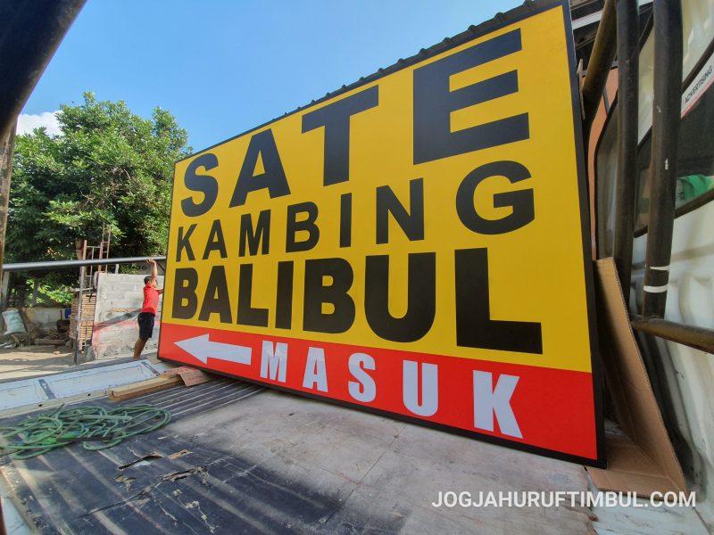 Jasa Pembuatan Neon Box di Bondowoso Murah dan Berkualitas