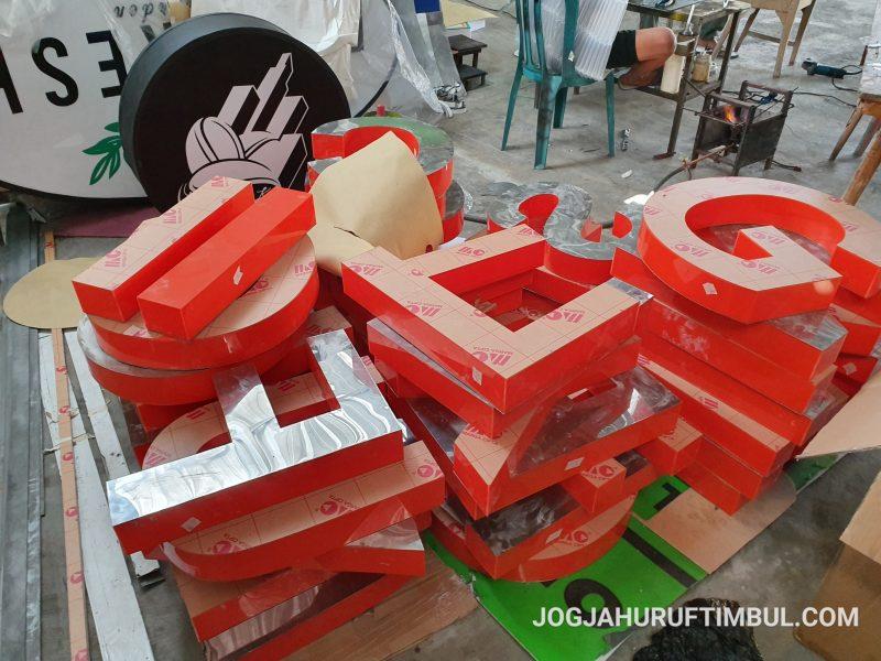 Jasa Pembuatan Huruf Timbul di Sidoarjo Murah dan Berkualitas